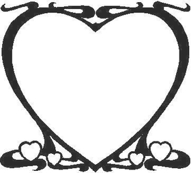 Big Heart Decal / Sticker