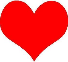 Heart Decal / Sticker 02