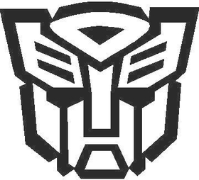 Transformers Autobot 10 Decal / Sticker