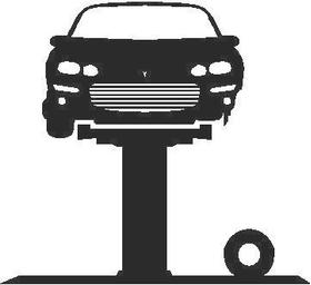 Car Lift Decal / Sticker