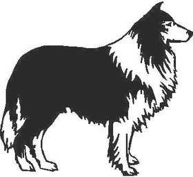 Dog Decal / Sticker 06