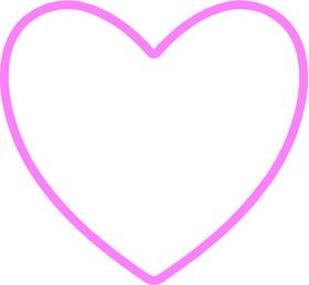 Heart Decal / Sticker 05