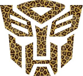 Autobot Leopard Print Decal / Sticker 30