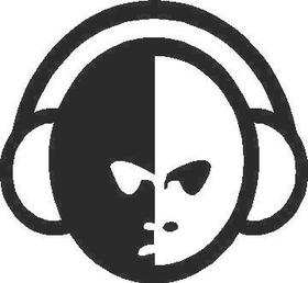 DJ Dee Jay Decal / Sticker 018
