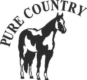 Pure Country Decal / Sticker 03