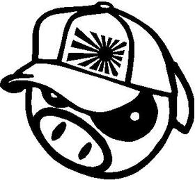 JDM Pig Decal / Sticker 02