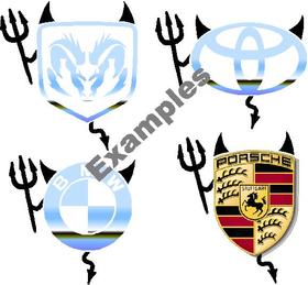 z Devil Emblem Add-Ons Decal / Sticker