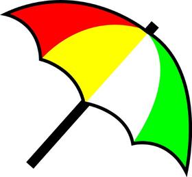 Arnold Palmer Umbrella Decal / Sticker 01