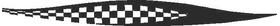 Checkered Flag Decal / Sticker 48