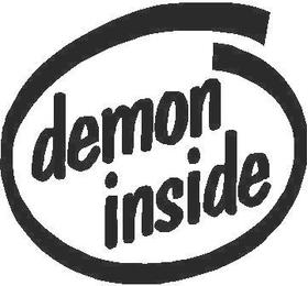 Demon Inside Decal / Sticker