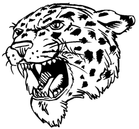 Leopards Mascot Decal / Sticker 4