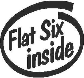 Flat Six Inside Decal / Sticker