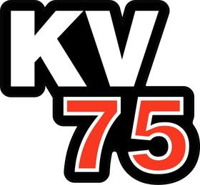 KV75 Decal / Sticker d