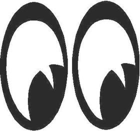 Mooneyes Decal / Sticker