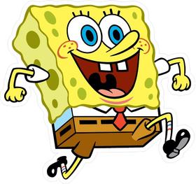 Spongebob Square Pants Decal / Sticker 02