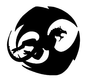 Dragons Mascot Decal / Sticker