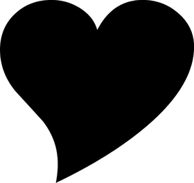 Heart Decal / Sticker 16