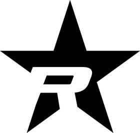 Rolling Big Power RBP Star Decal / Sticker 05