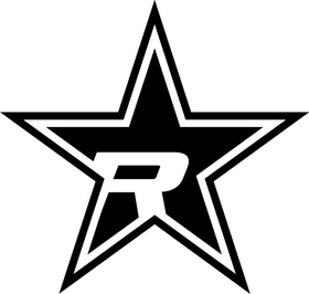 Rolling Big Power RBP Star Decal / Sticker 13