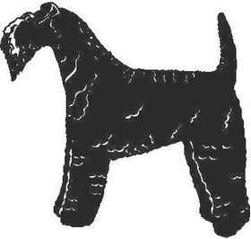 Kerry Blue Terrier Decal / Sticker