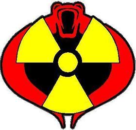 Cobra Commander Decal / Sticker 05