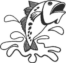 Fish Decal / Sticker 05