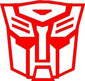 Autobot 04 Transformers Decal / Sticker