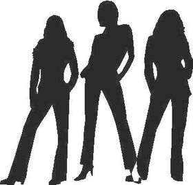 Charlie's Angels Decal / Sticker 03