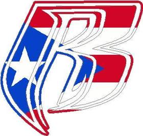 Ruff Ryders Texas Flag Decal / Sticker