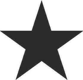 Star Decal / Sticker 01