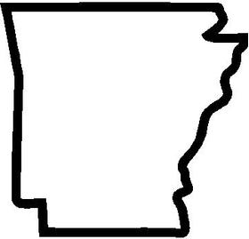 Arkansas 01 Decal / Sticker