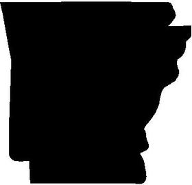 Arkansas 02 Decal / Sticker