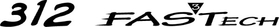 Formula 312 FASTech Decal / Sticker 14