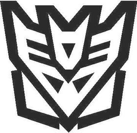 Transformers Decepticon 10 Decal / Sticker