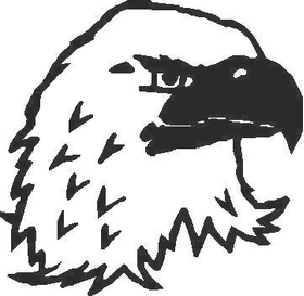Bald Eagle 1 decal / sticker