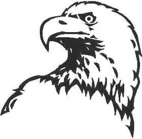 Eagle Decal / Sticker 11