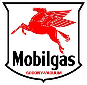 MobilGas Pegasus Decal / Sticker 09