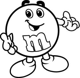 M&M Decal / Sticker 37