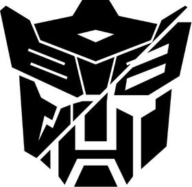 Split Autobot Dinobot Transformers Decal / Sticker 02