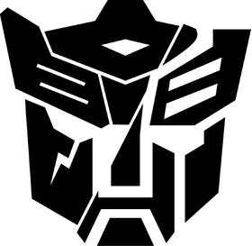 Split Autobot Dinobot Transformers Decal / Sticker 03