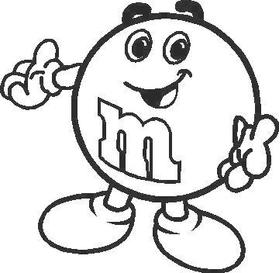 M&M Decal / Sticker 02