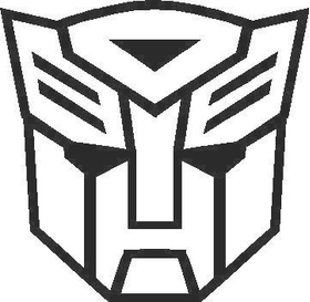 Transformers Autobot 12 Decal / Sticker