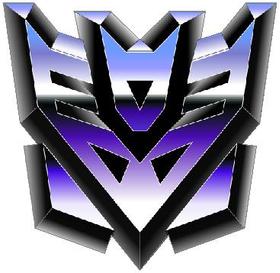 Transformers Decepticon 09 Decal / Sticker