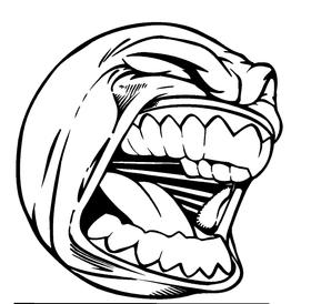 Screaming Ball Decal / Sticker