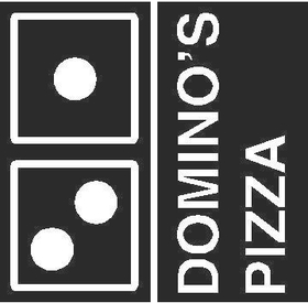 Dominos Pizza Decal / Sticker
