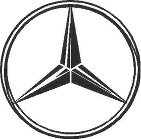 Mercedes Decal / Sticker 02