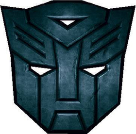 Full Color Autobot Decal / Sticker 06