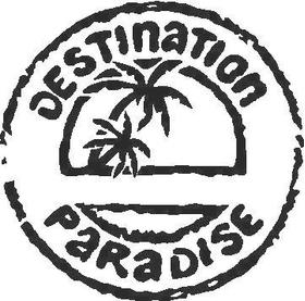 Destination Paradise Decal / Sticker