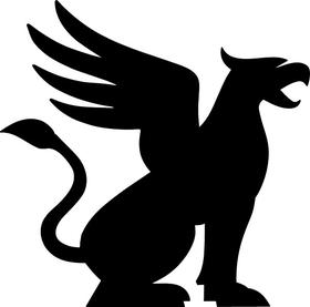 Griffin Decal / Sticker 02
