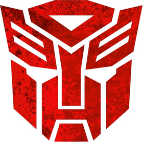Rusted Autobot Decal / Sticker 28